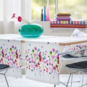 Tischläufer Apelt 3945 pink-bunt (30) Milieu