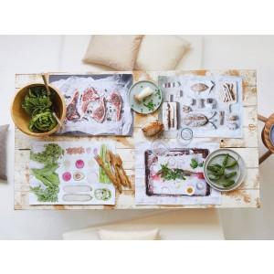 Tischset Apelt 3955 fleisch (30) Milieu