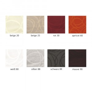 Farbpalette Tischset Apelt 4195