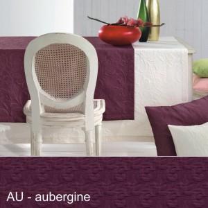 Maßanfertigung Pichler Cordoba rund aubergine