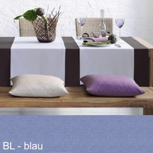 Tischläufer Pichler Como blau