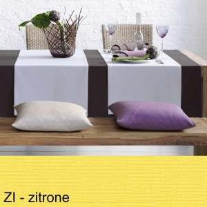 Tischläufer Pichler Como zitrone