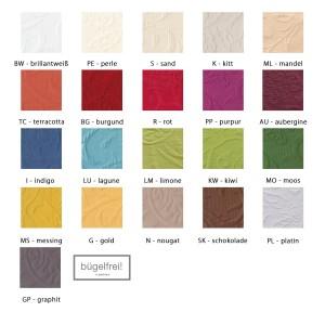 Farbpalette Maßanfertigung Pichler Cordoba eckig