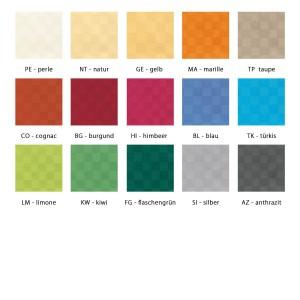 Farbpalette Maßanfertigung Pichler Casa oval