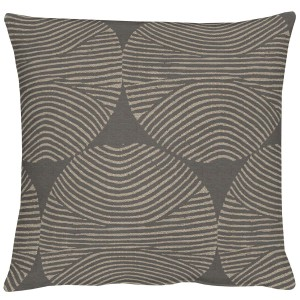 Kissen Apelt Circle graphit