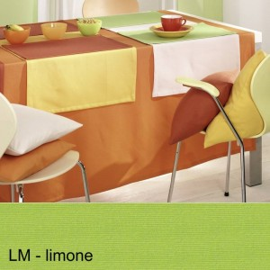 Tischdecke Pichler Como oval limone