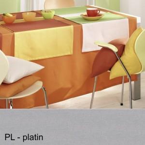 Tischdecke Pichler Como oval platin
