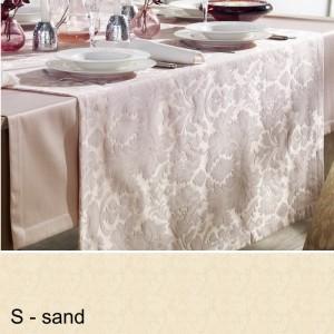 Tischläufer Pichler Palazzo 50x150cm sand