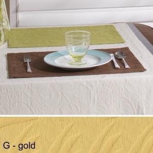 Tischset Pichler Cordoba gold