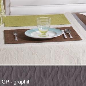 Tischset Pichler Cordoba graphit