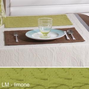 Tischset Pichler Cordoba limone
