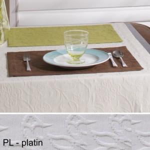 Tischset Pichler Cordoba platin
