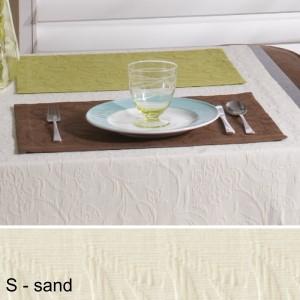 Tischset Pichler Cordoba sand