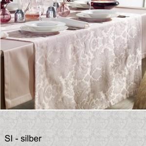 Tischläufer Pichler Palazzo silber