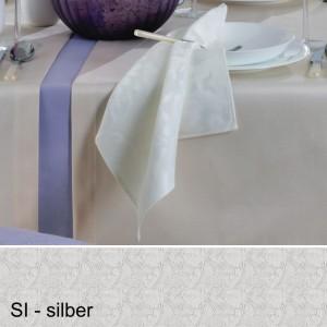 Serviette Pichler Palazzo silber