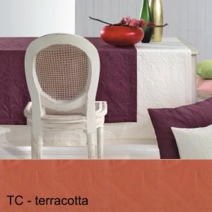 Maßanfertigung Pichler Cordoba rund terracotta