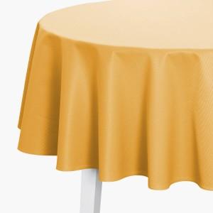 Tischdecke Pichler Mondo rund gelb