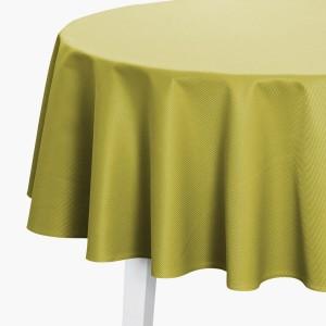 Tischdecke Pichler Mondo rund limone