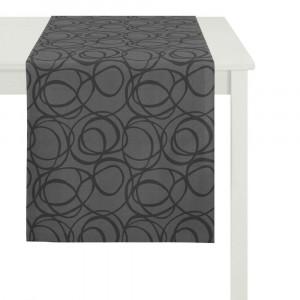 Tischläufer Apelt 4195 schwarz (89)