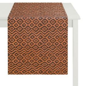 Tischläufer Apelt Konta rotbraun (60)