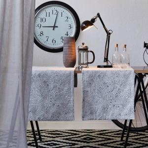 Tischläufer Apelt Senso grau (82) Milieu