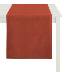 Tischläufer Apelt Tinos rot (30)