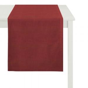 Tischläufer Apelt Tinos rot (35)
