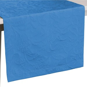 Tischläufer Pichler Cordoba kornblumenblau