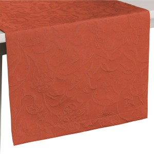 Tischläufer Pichler Cordoba terracotta