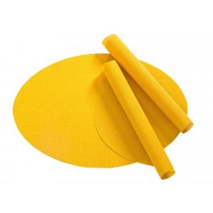 Tischset Pichler Blues oval gelb