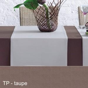 Tischläufer Pichler Como taupe