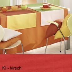 Tischdecke Pichler Como oval kirsche