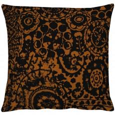 Kissen Apelt Granada schwarz-braun