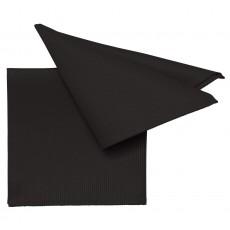 Serviette Pichler Mondo noir