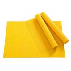 Tischset Pichler Blues eckig gelb