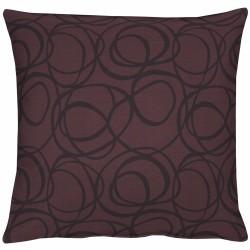 Kissen Apelt 4195 schwarz-violett (90)