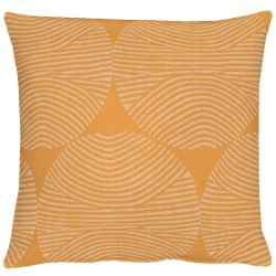 Kissen Apelt Circle orange