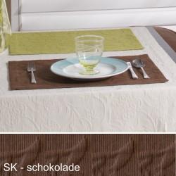 Tischset Pichler Cordoba schokolade