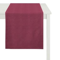 Tischläufer Apelt Leinen Ascot rot (30)