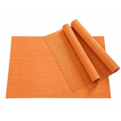 Tischset Pichler Blues eckig orange