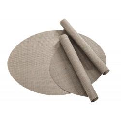 Tischset Pichler Boogie oval silber